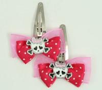 Pink / cute Sk bone Wh-pink dark pink skull