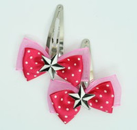Pink / star black-white dark pink star