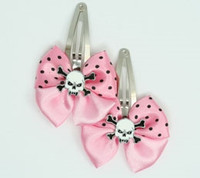 Pink / Sk tooth white light pink skull