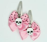 Pink / skull plain white light pink skull