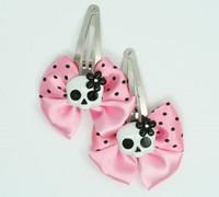 Pink / Sk flower Wh-Bl light pink skull