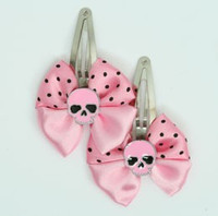 Pink / skull plain pink light pink skull