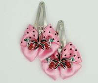 Pink / star cherry black-red light pink star