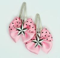 Pink / star black-white light pink star