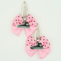 Pink / shoe black light pink mix