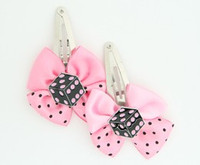 Pink / dice PE black-pink light pink mix