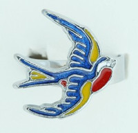 Swallow color animal ring