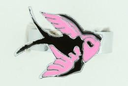 Swalluw cute pink animal ring