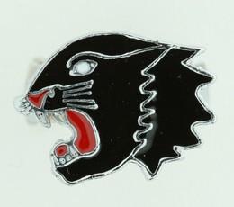 Panther black animal ring
