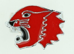 Panther red animal ring