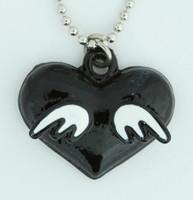 Heart wings sweet necklace