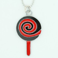 Lolly black-red sweet necklace