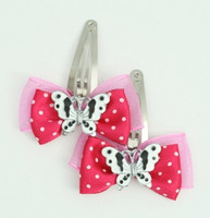 Pink / butterfly white dark pink animal