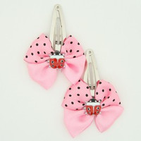 Pink / ladybird light pink animal