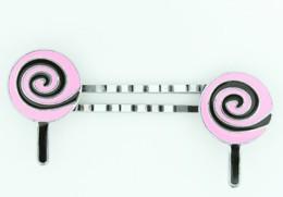 Lolly black-pink sweet slide