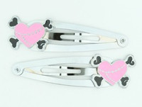 Heart bone pink-black sweet special