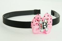 LP Cute Skull Bone Black-Red Light Pink Bow & Skull