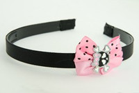 LP Cute Skull Bone Black-Pink Light Pink Bow & Skull
