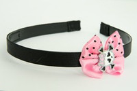 Cute skull bone white-pink light pink bow & skull