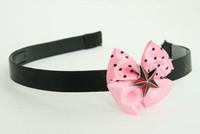 3D star red light pink bow & mix