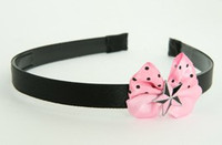 3D star pink light pink bow & mix