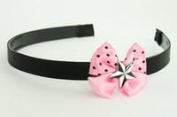 Star white light pink bow & mix