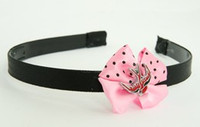 Swallow red light pink bow & animal