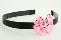 Swallow pink light pink bow & animal