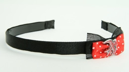 Black-red / swallow red Red bow & animal