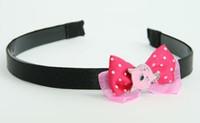 D Pink/ Cat Pink Dark Pink Bow & Animal