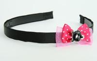 D Pink/ Cat Black Dark Pink Bow & Animal