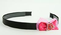 Pink / cat red dark pink bow & animal