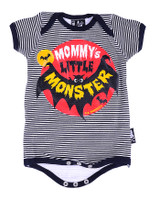 Mommy's little monster six bunnies baby body