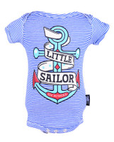 Little sailor six bunnies baby body