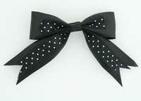 Black-white clean hair clips piece