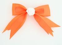 Orange / flower white orange flower