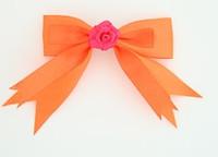 Orange / flower D.pink orange flower