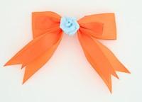 Orange / flower blue orange flower