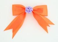 Orange / flower purple orange flower
