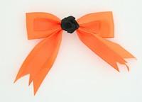 Orange / flower black orange flower