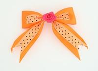 Dot orange / flower D.pink Orange flower