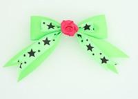 Green / flower D.pink green flower