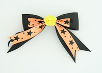 Bl-orange / flower yellow black-orange flower