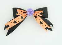 Bl-Orange / flower purple black-orange flower