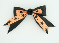 Bl-orange / flower black Black-orange flower