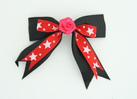 Bl-red / flower D.pink black-red flower