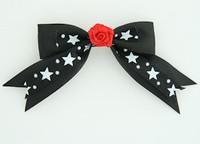 Bl-white / flower red black-white flower