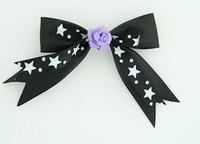 S Bl-white / flower purple black-white flower