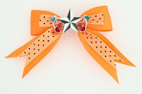 Dot orange / star cherry black-white orange star