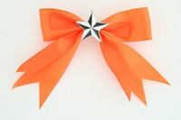 Orange / star white orange star